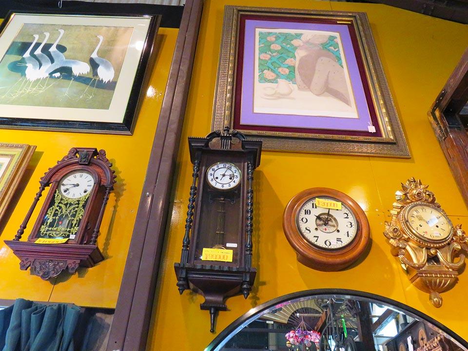 人気の柱時計、掛時計、多数あります。ユンハンス、SEIKOSHA、AICHI…